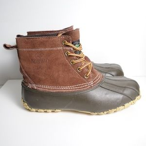 RedHead Suede DuckBoots Brown Suede Leather 090